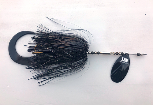 American made bucktail musky lure